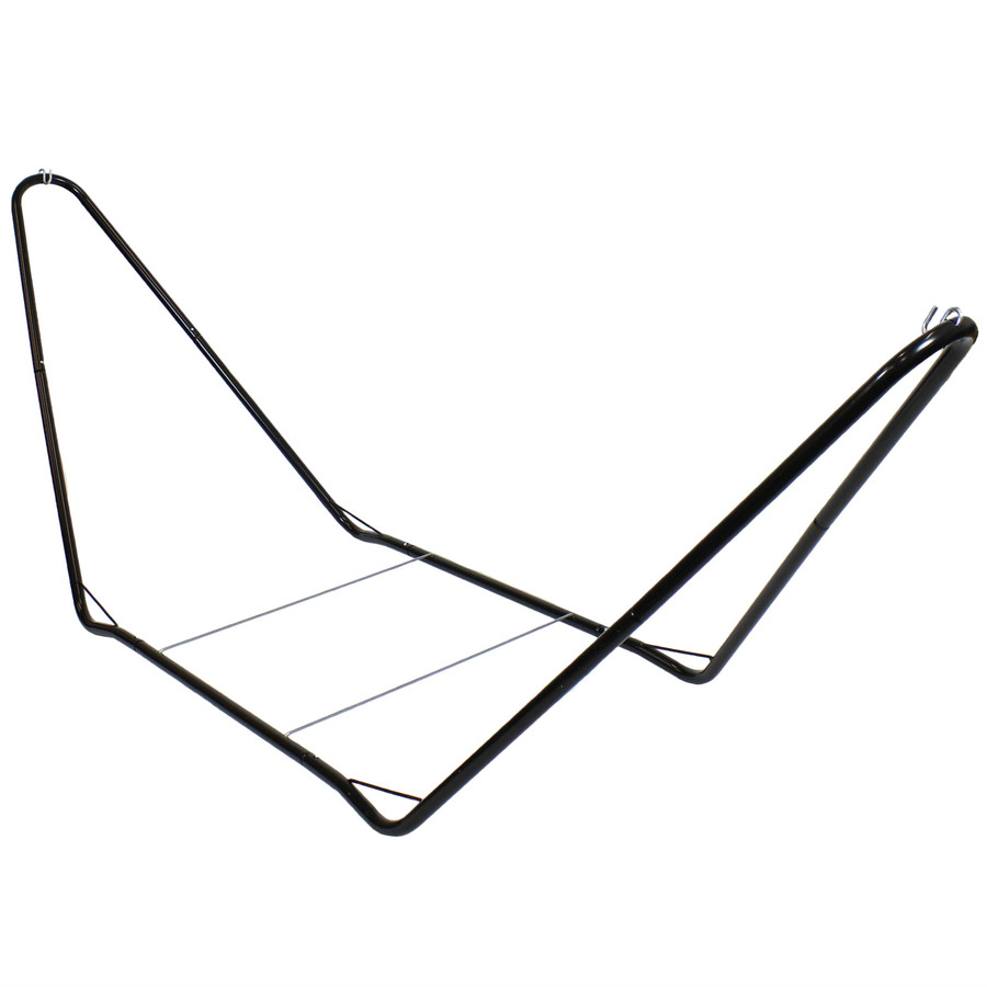 Sunnydaze Portable Steel 10 Foot Hammock Stand, 300 Pound Capacity
