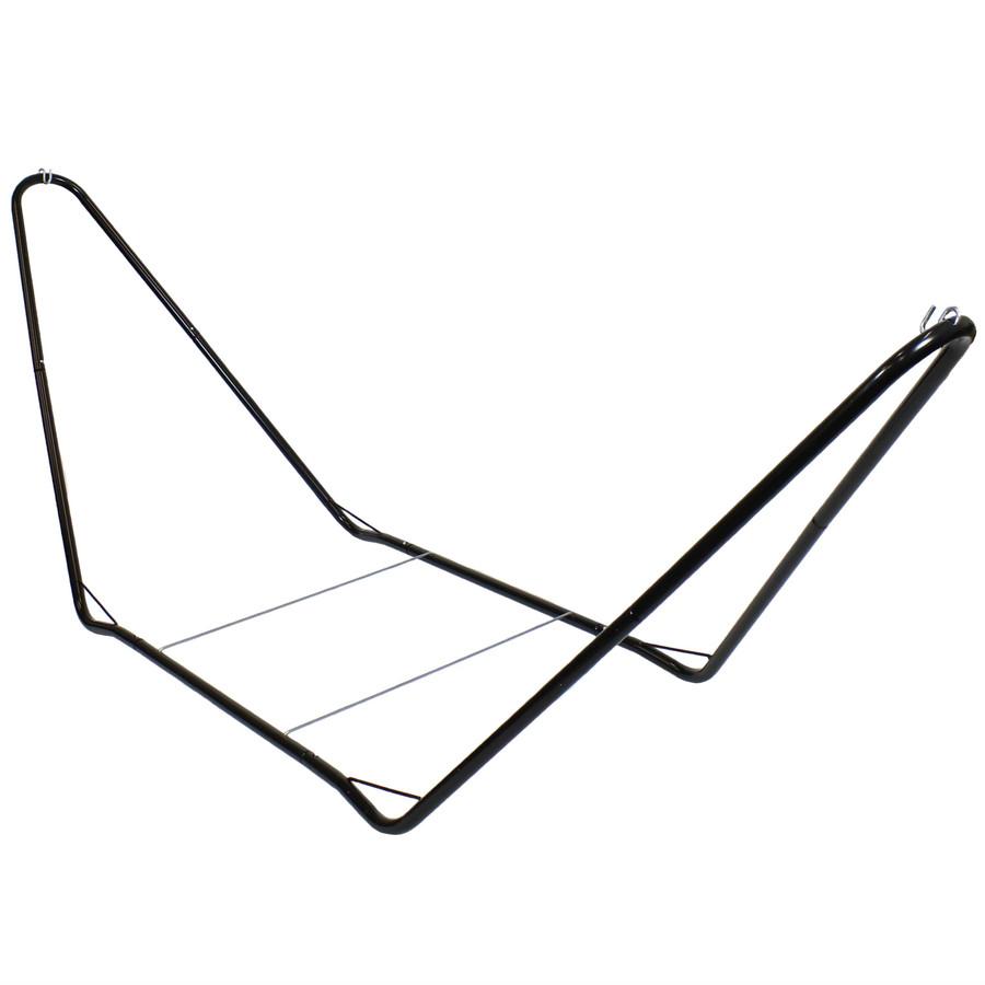 Sunnydaze Portable Steel 10 Foot Hammock Stand, 300 Pound Capacity