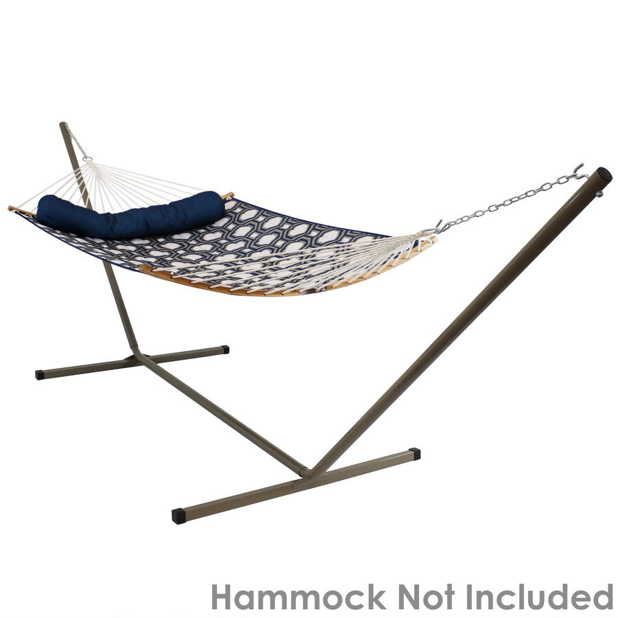 Spreader Bar Hammock on Beige Stand (Hammock Not Included)