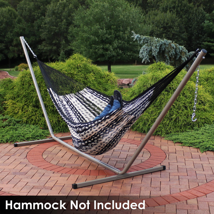 Beige Stand with Mayan Hammock (Hammock Not Included)