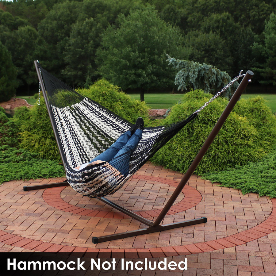 Mayan Hammock on Bronze Stand (Hammock Not Included)