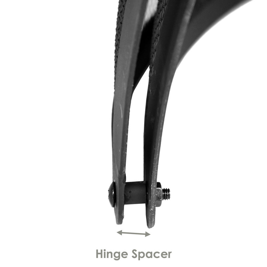 Closeup of Hinge Spacer