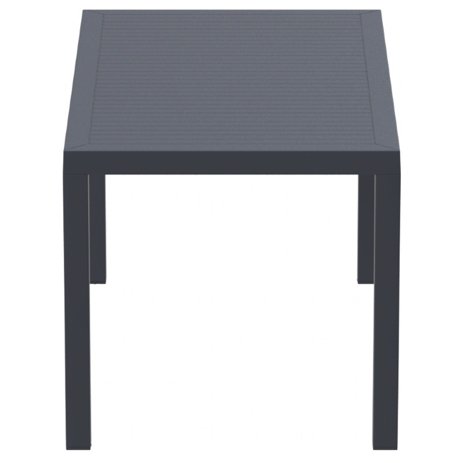 Ares Resin Rectangle Dining Table