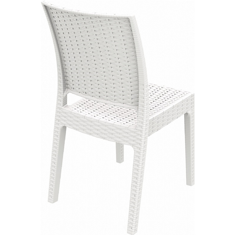 Florida Resin Wickerlook Dining Chair (Set of Two)