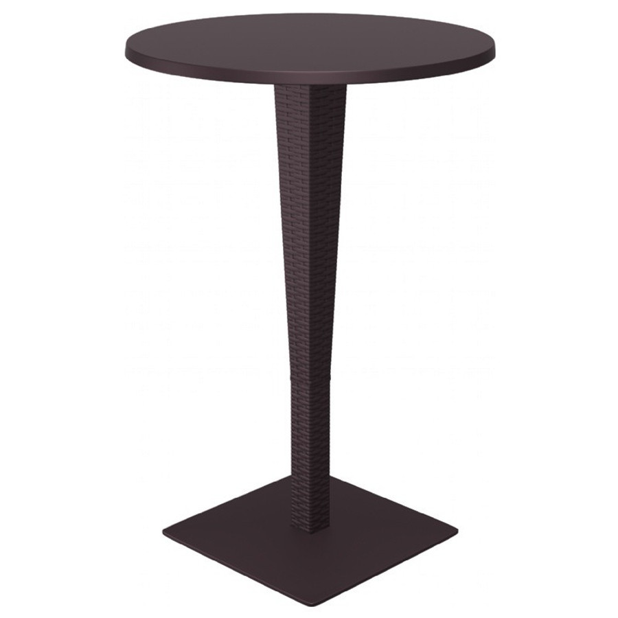 Riva Werzalit Round Top Bar Height Table