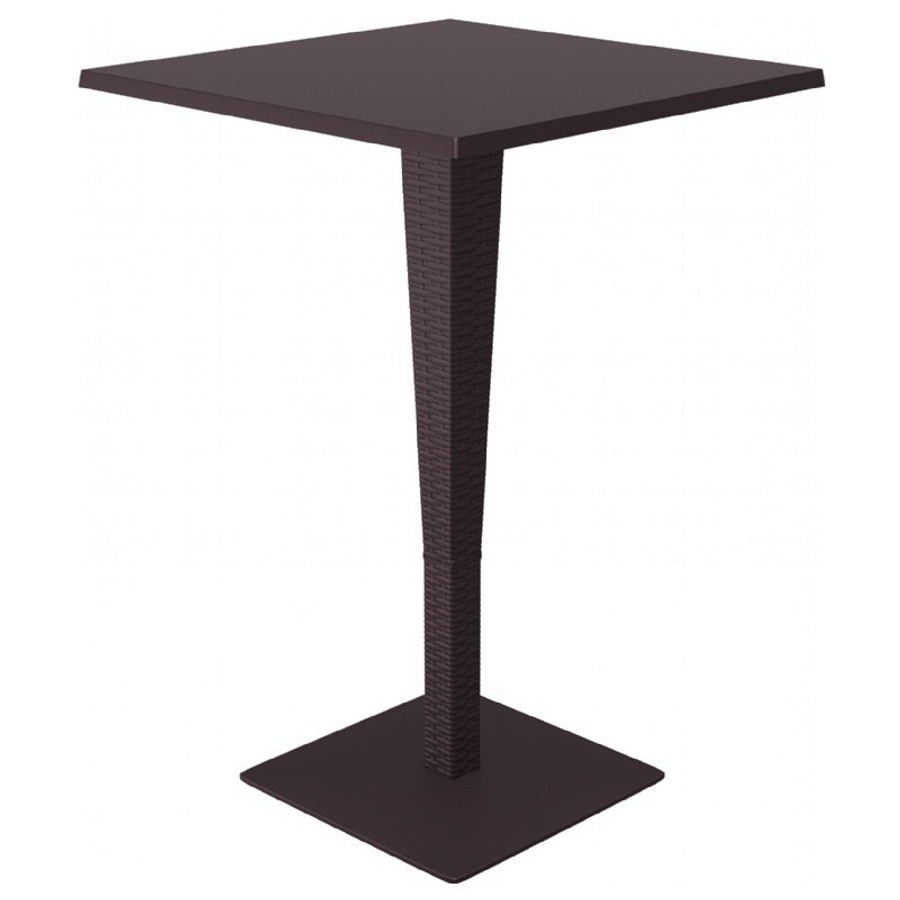 Riva Werzalit Square Top Bar Height Table