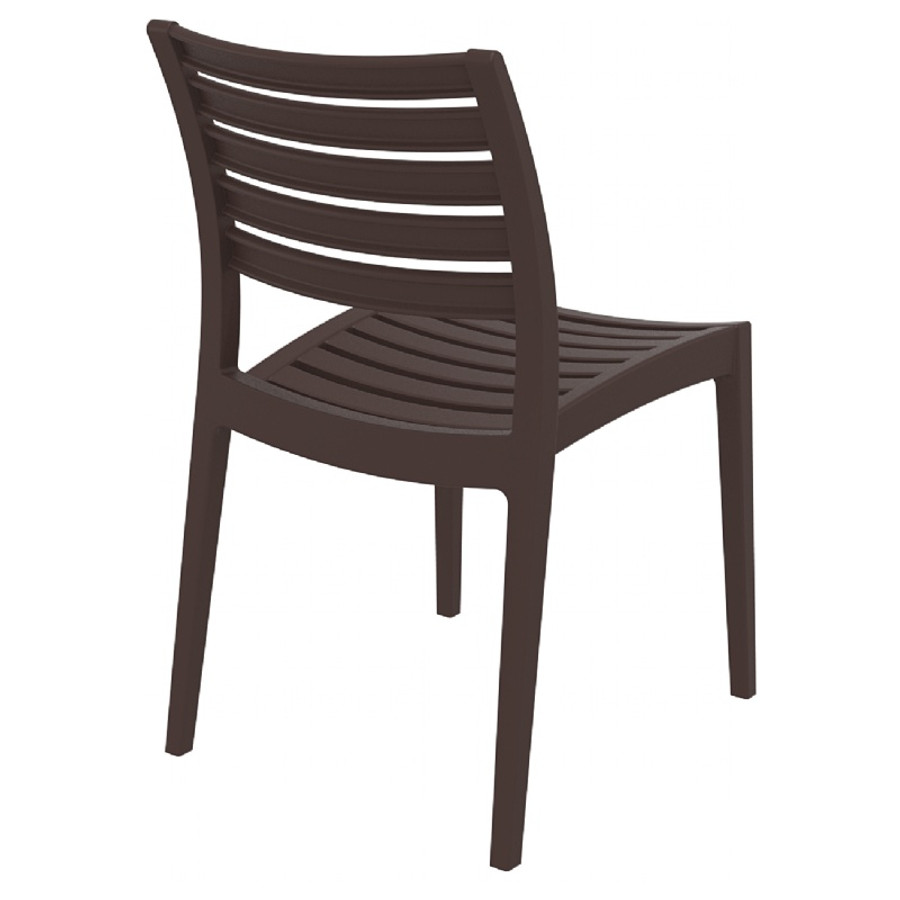 Ares Resin Outdoor Dining Chair (2 Chairs)