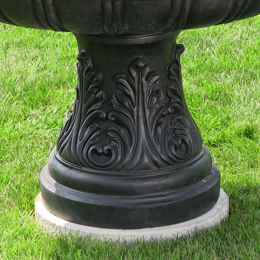 Closeup of Bottom of Fountain