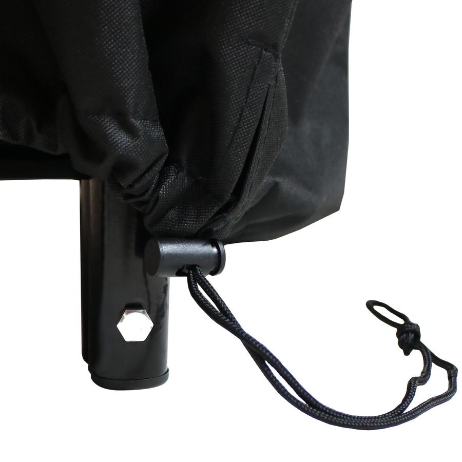 Closeup of Toggle, Black