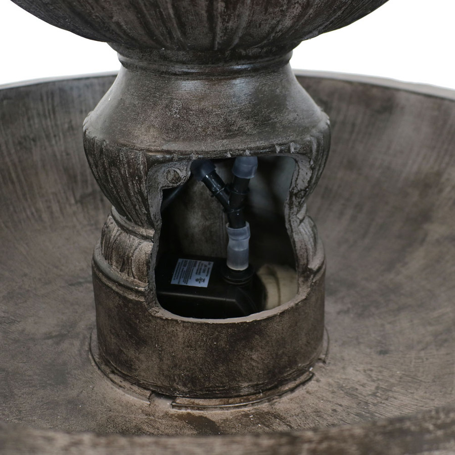 Clover of Classic 3 Tier Designer Outdoor Water Fountain