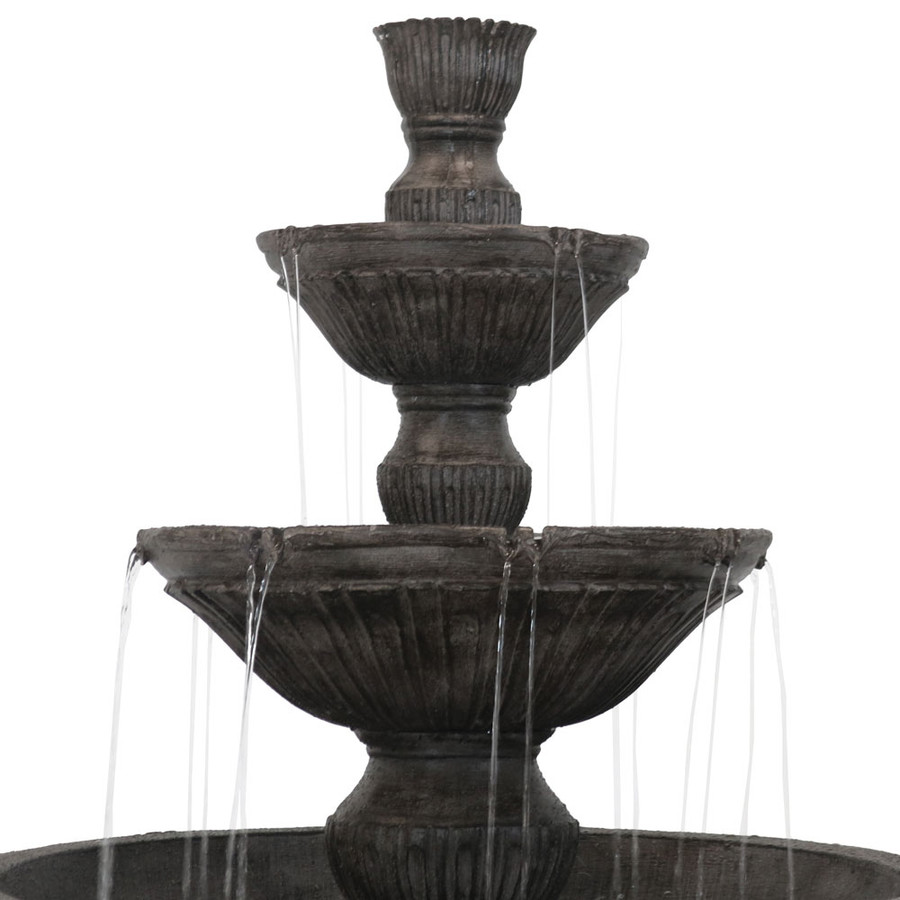 Tiers of Classic 3 Tier Designer Outdoor Water Fountain