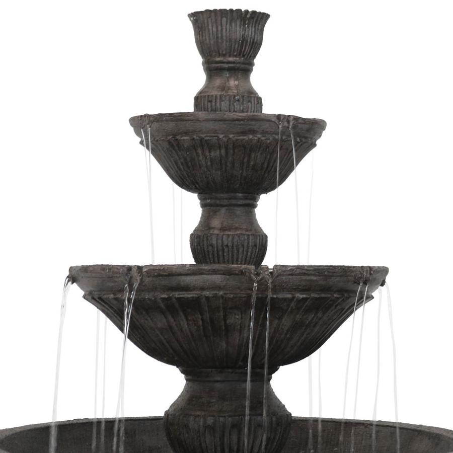 Tiers of Classic 3 Tier Designer Outdoor Water Fountain