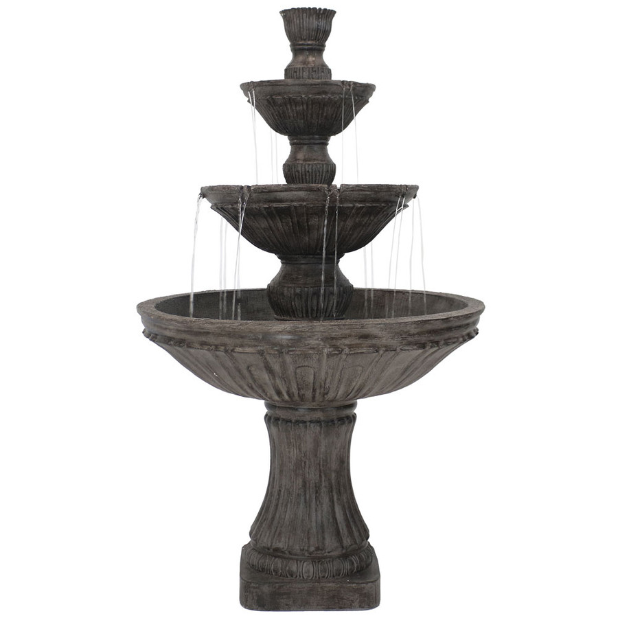 Classic 3 Tier Designer Outdoor Water Fountain