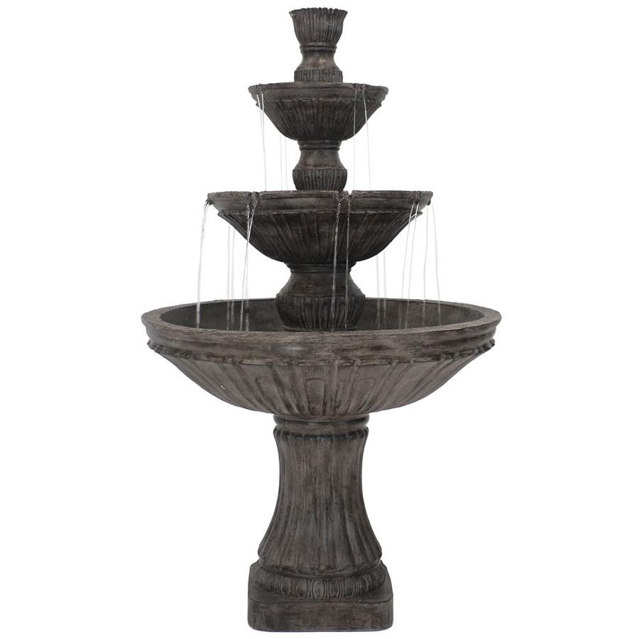 Classic 3 Tier Designer Outdoor Water Fountain