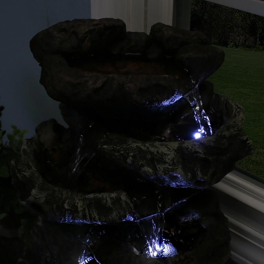 Light Closeup in Dark