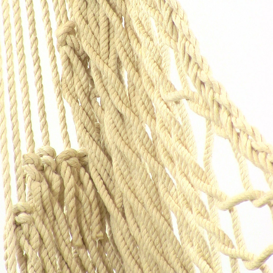 Closeup of Rope Hammock Chair