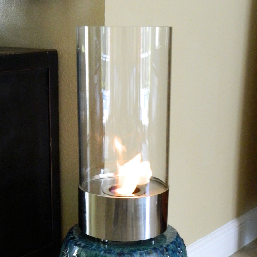 Nu-Flame Cristallo Tabletop Ethanol Indoor Fireplace