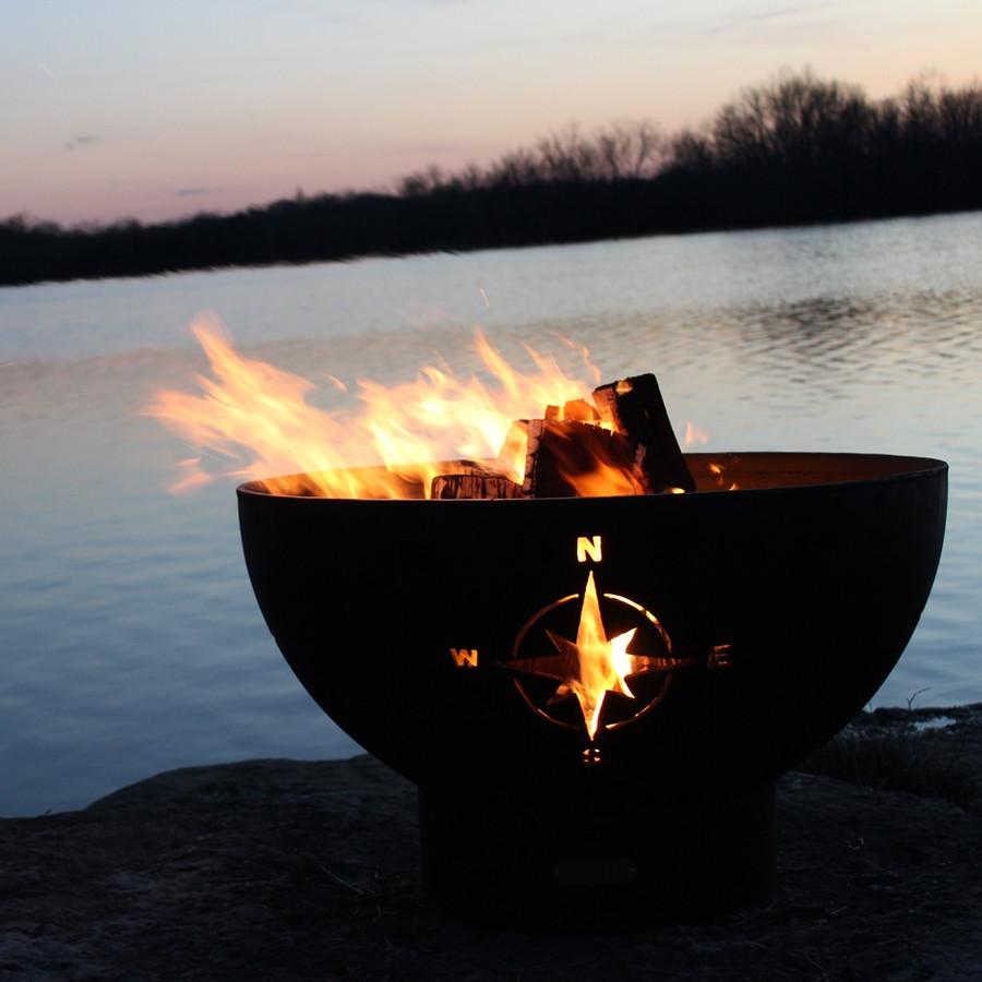 Navigator Fire Pit by Fire Pit Art
