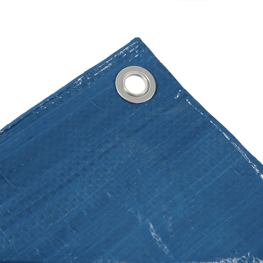 Sunnydaze Waterproof Multi-Purpose Poly Tarp, Color and Size Options Available