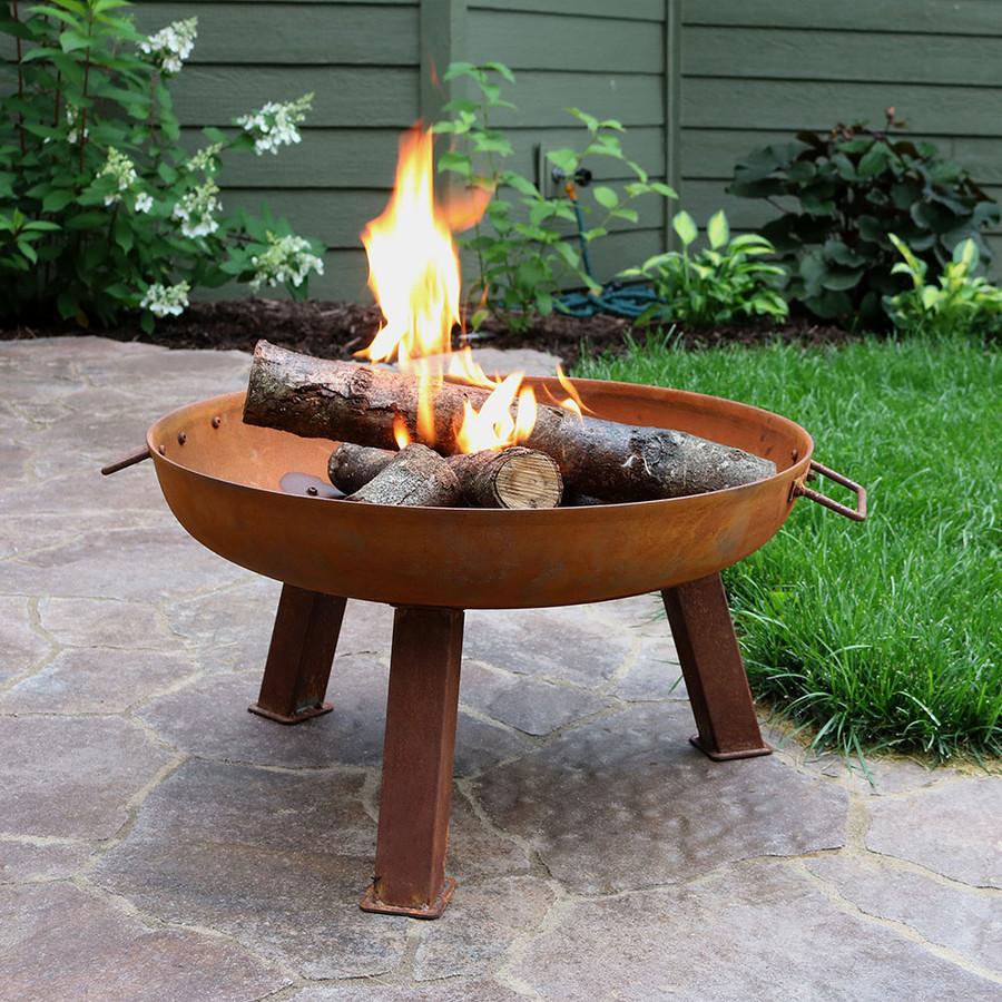 """24"""" Cast Iron Fire Pit Bowl"""
