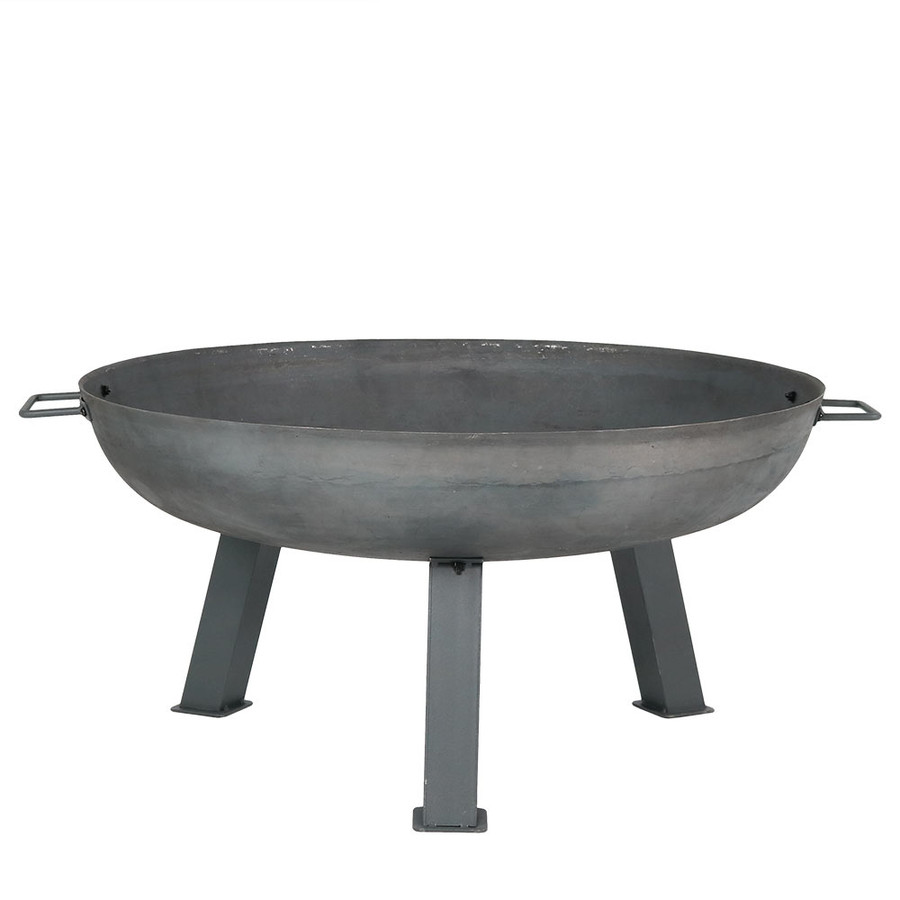 "30"" Cast Iron Steel Finished Fire Pit Bowl"