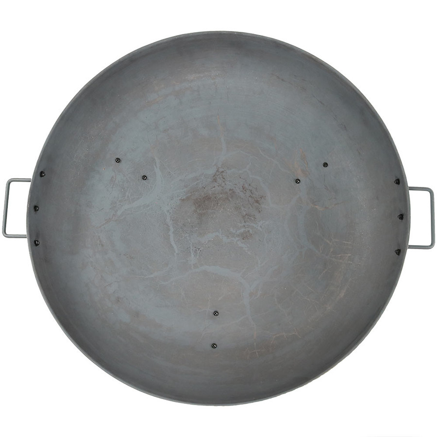 "30"" Cast Iron Steel Finished Top View"