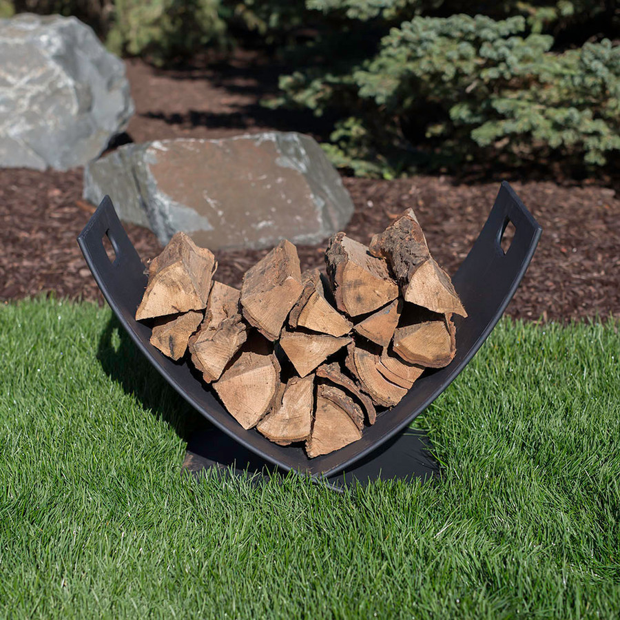 Sunnydaze 30 Inch Fireside Log Holder
