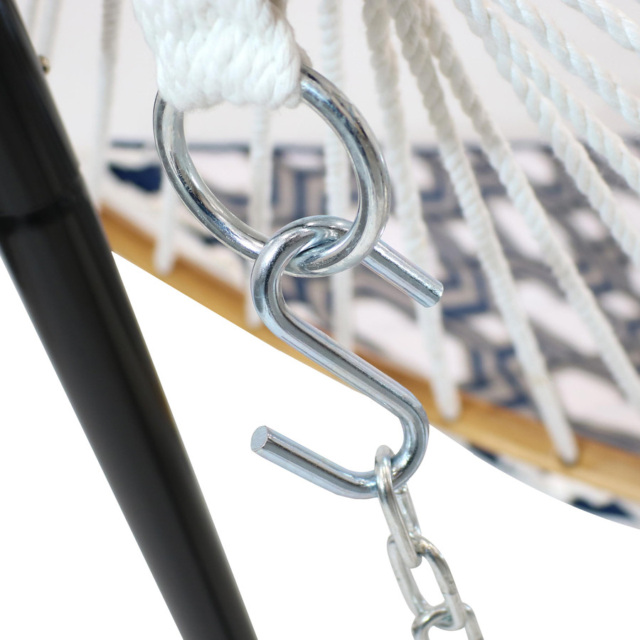 Closeup of Chain and S-Hook