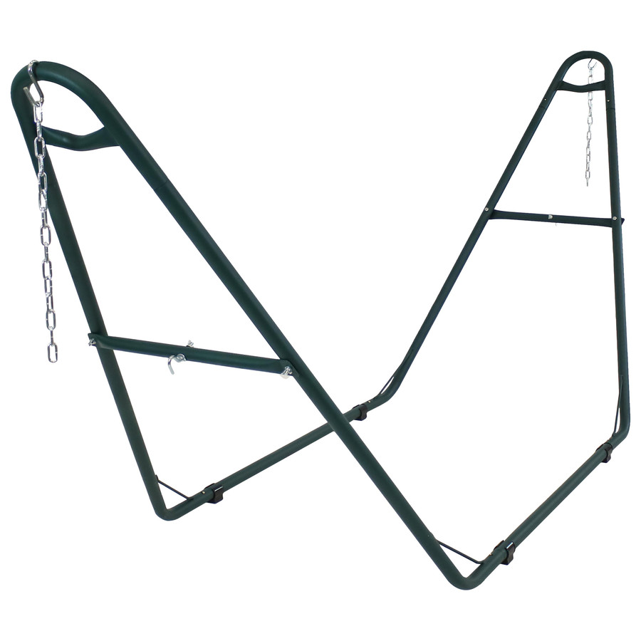 Universal Multi-Use Heavy-Duty Steel Hammock Stand, Green