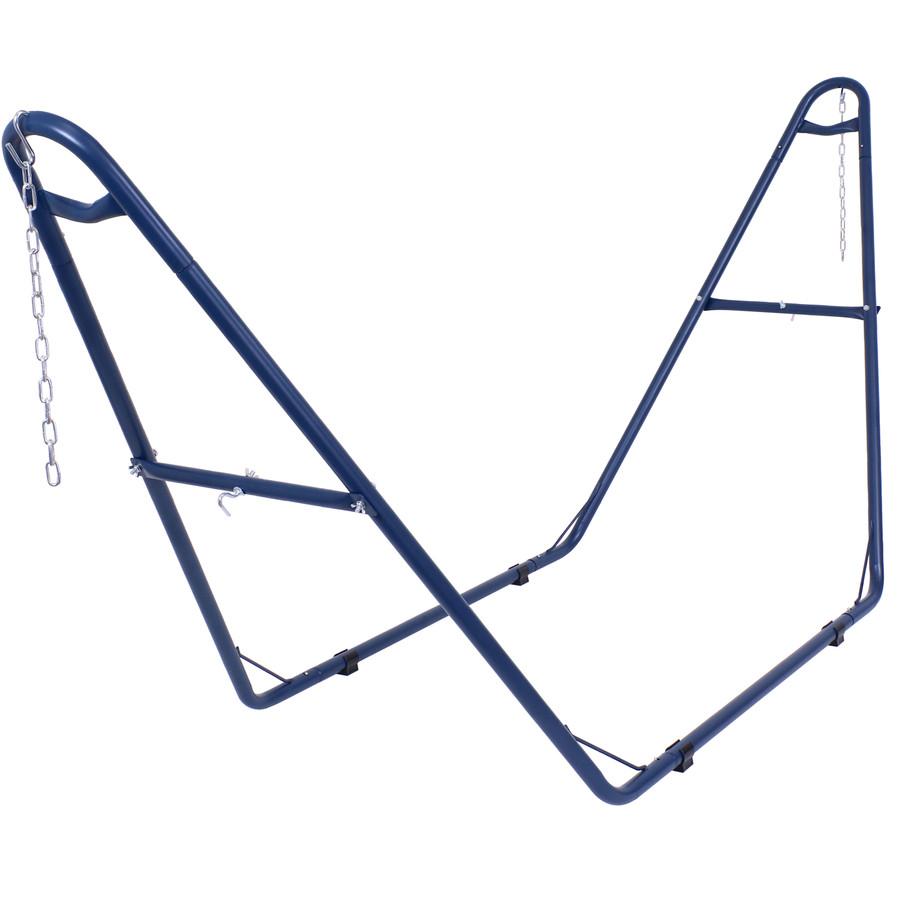 Blue Hammock Stand