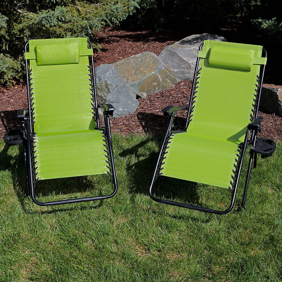 Green Set of 2 Outdoors
