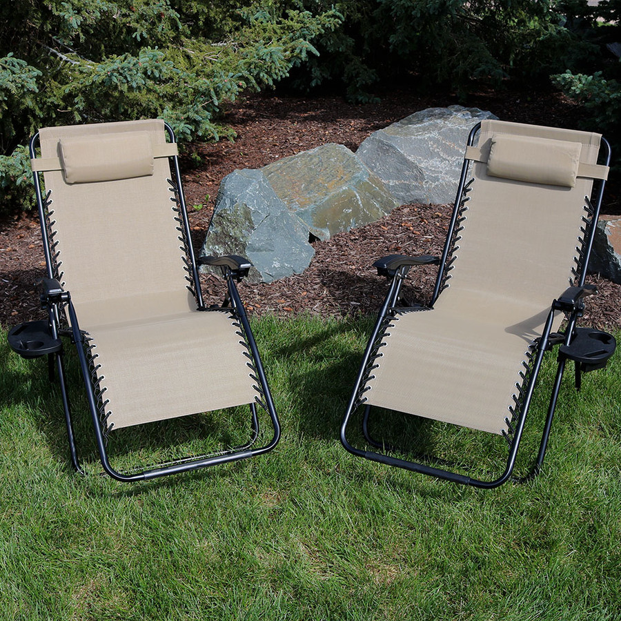 Khaki Set of 2 Outdoors