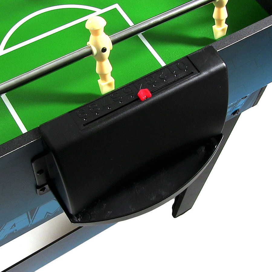 Closeup of Foosball Scorer