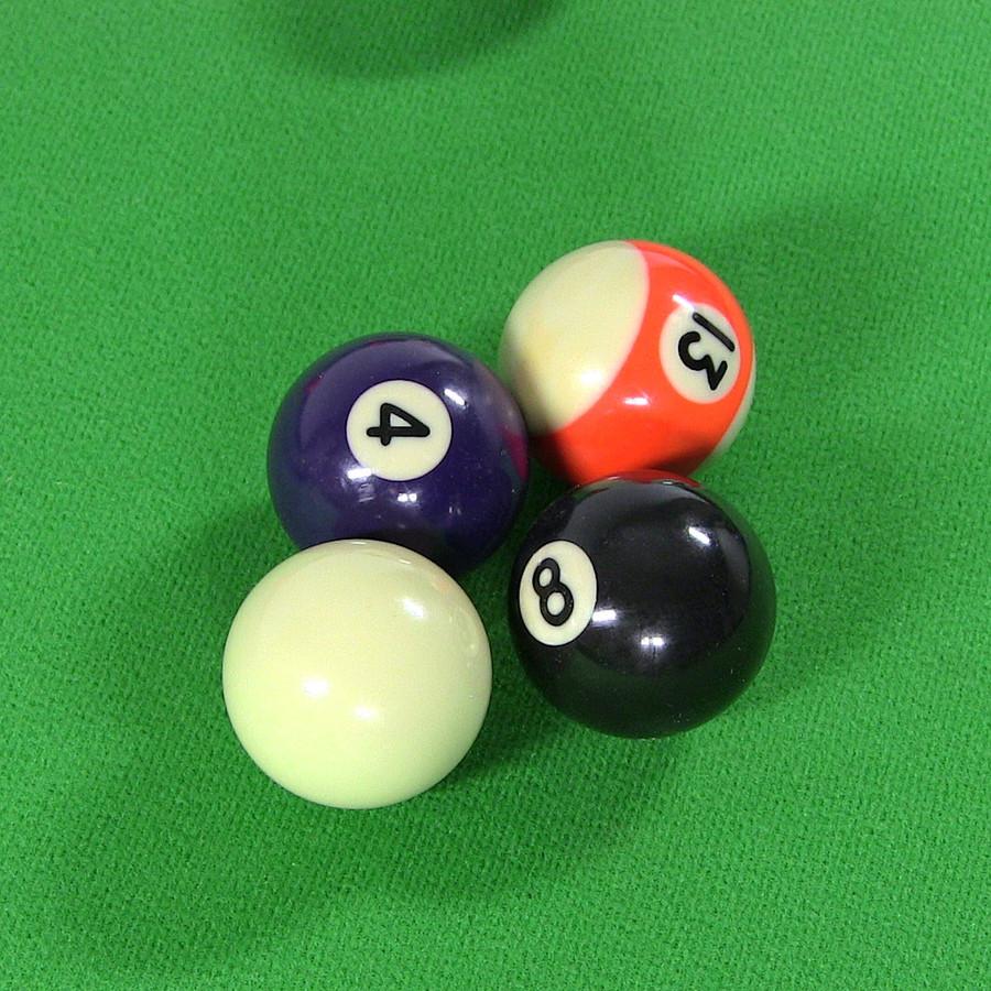 Closeup of Balls
