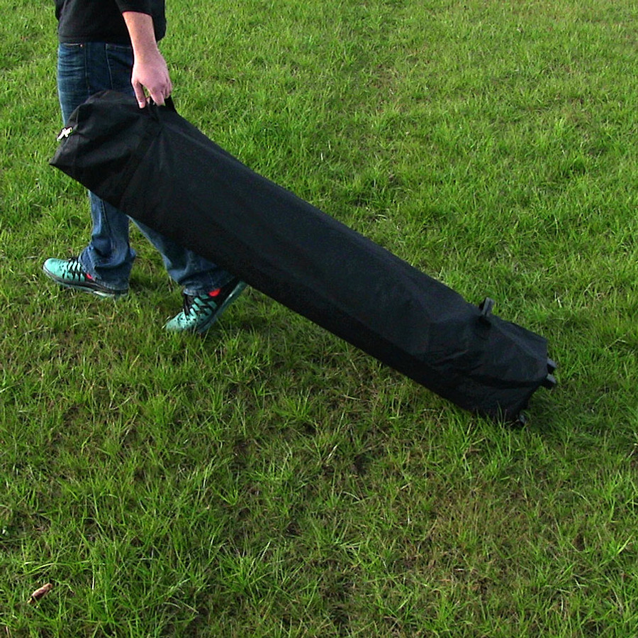 Sunnydaze Quick-Up Rolling Canopy Bag for 8- to 10-Foot Canopies