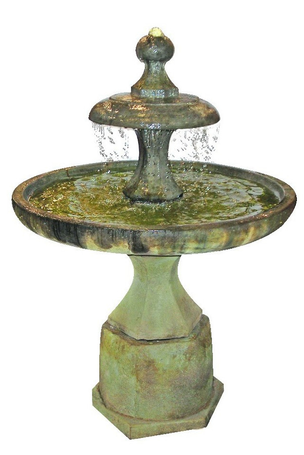Henri Studio Cast Stone Plateau Fountain