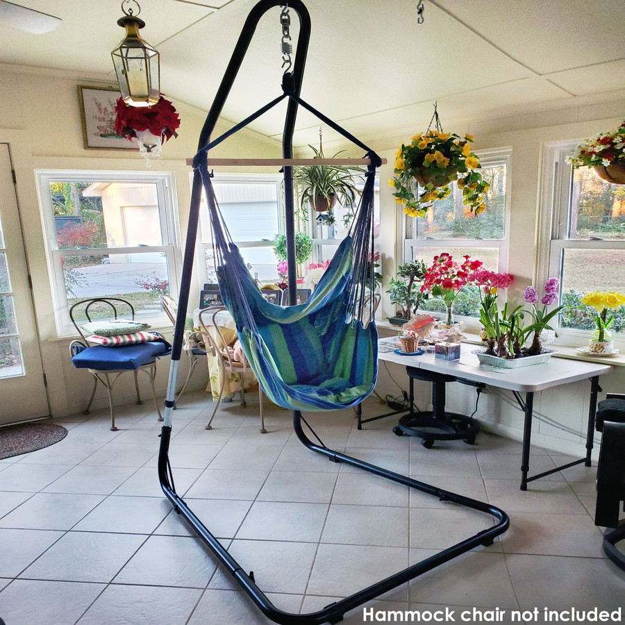 Customer-Submitted Photo of Stand (Hammock Chair NOT Included)