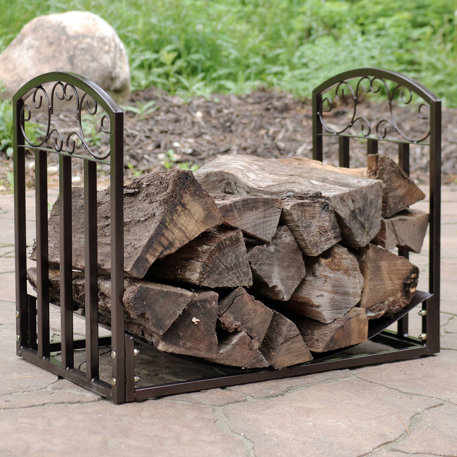 Bronze with Logs