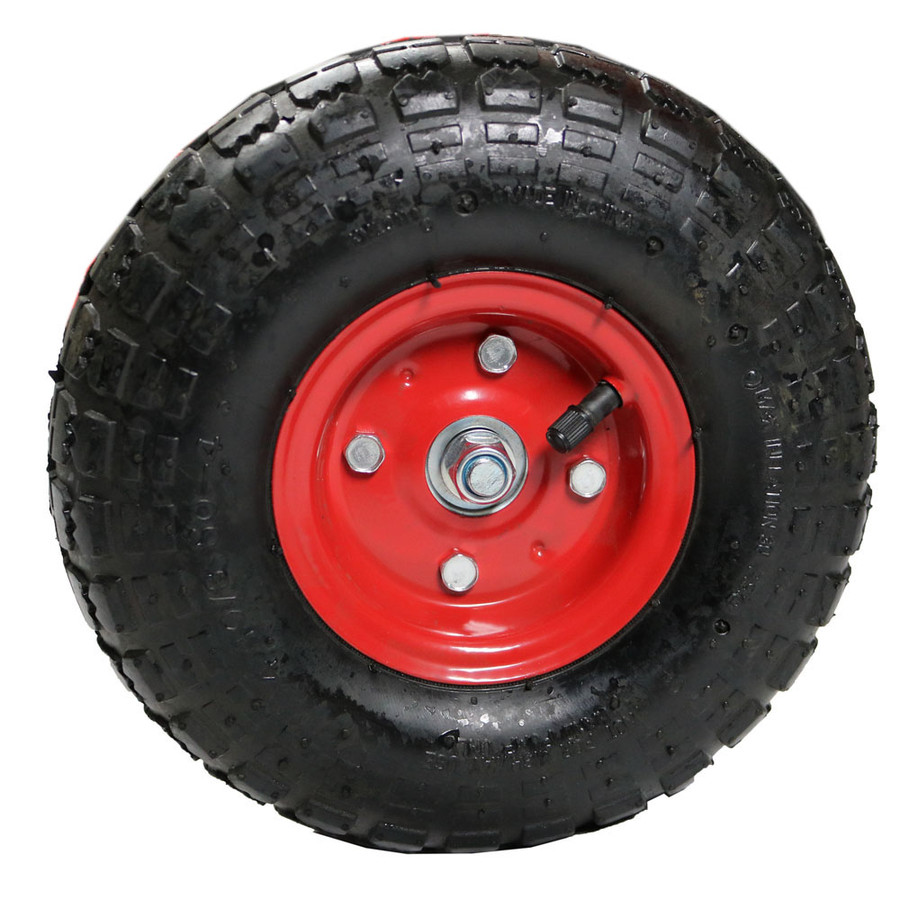 Dark Red Tire Rim