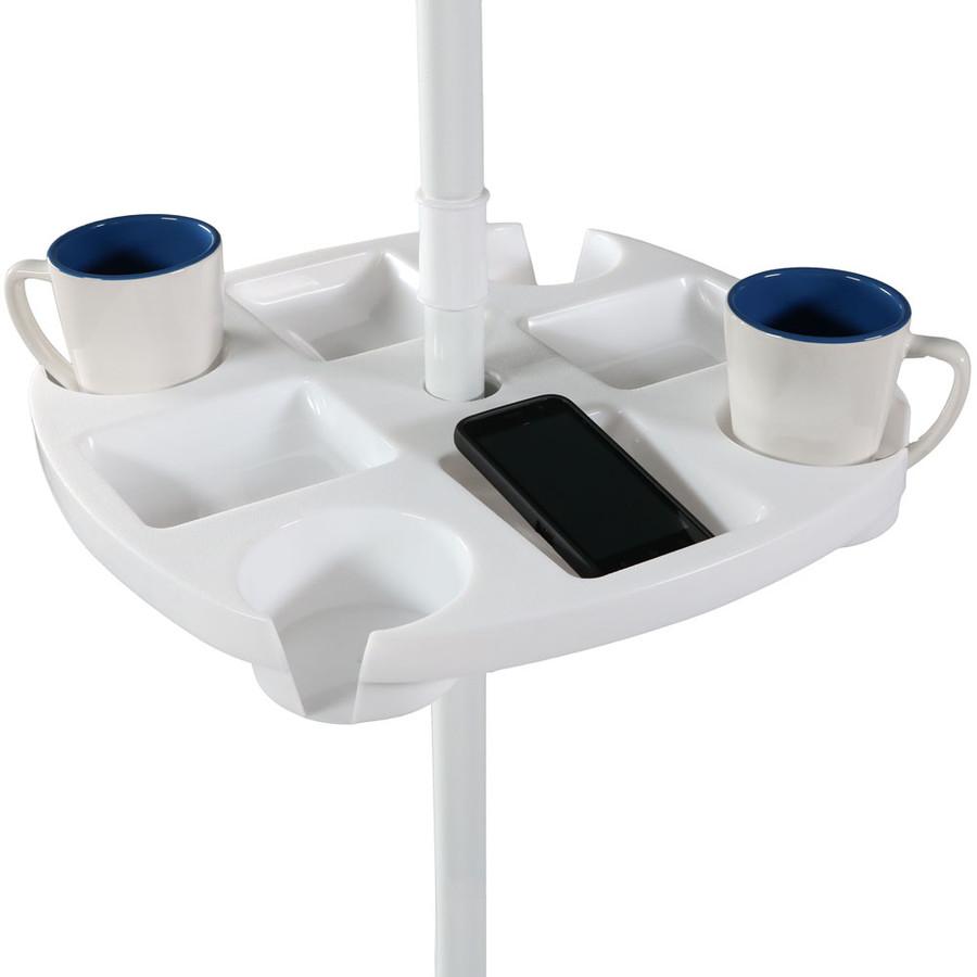 Beach Umbrella Table in Use