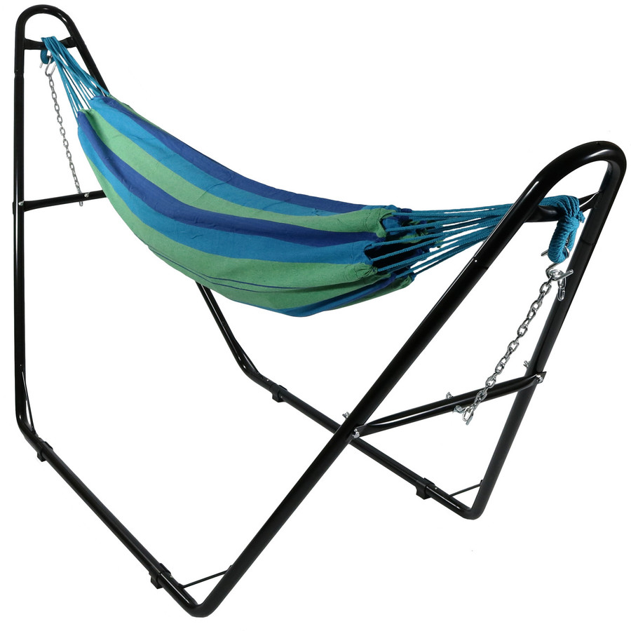Beach Oasis with Multi-Use Hammock Stand