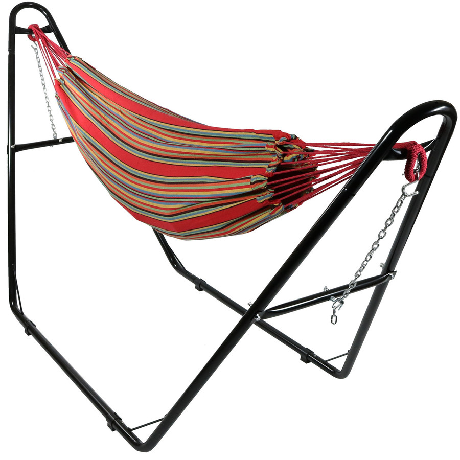 Sunset with Multi-Use Hammock Stand