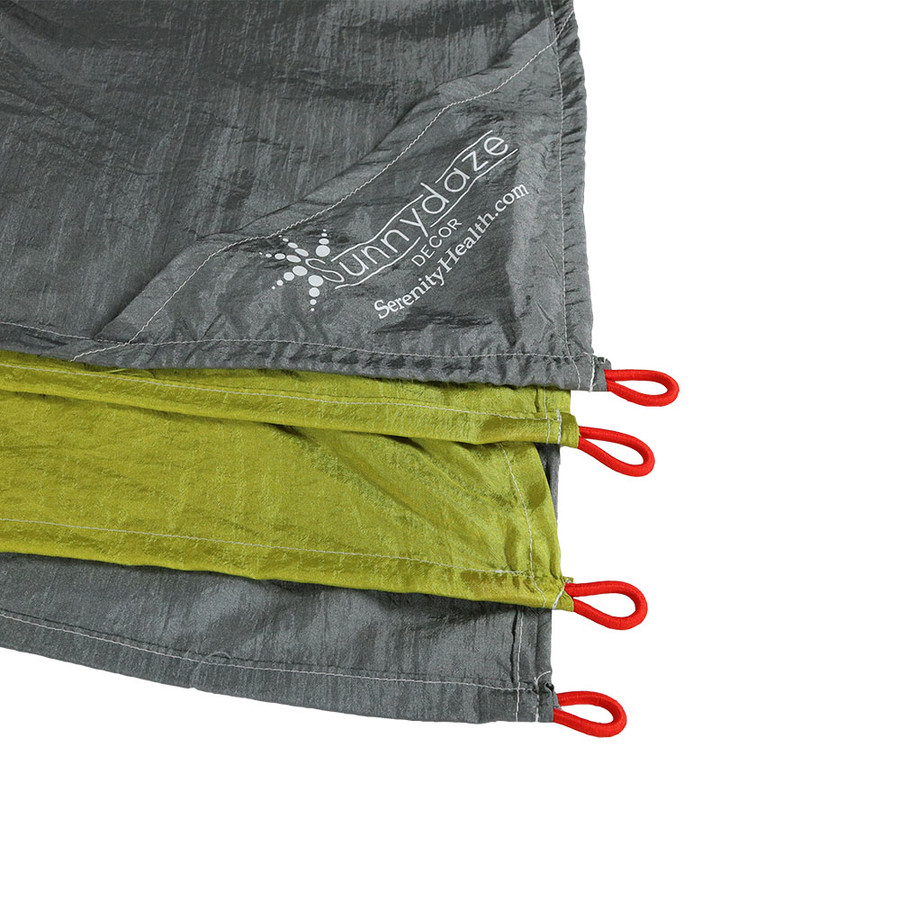 Lime/Charcoal Stake Loops