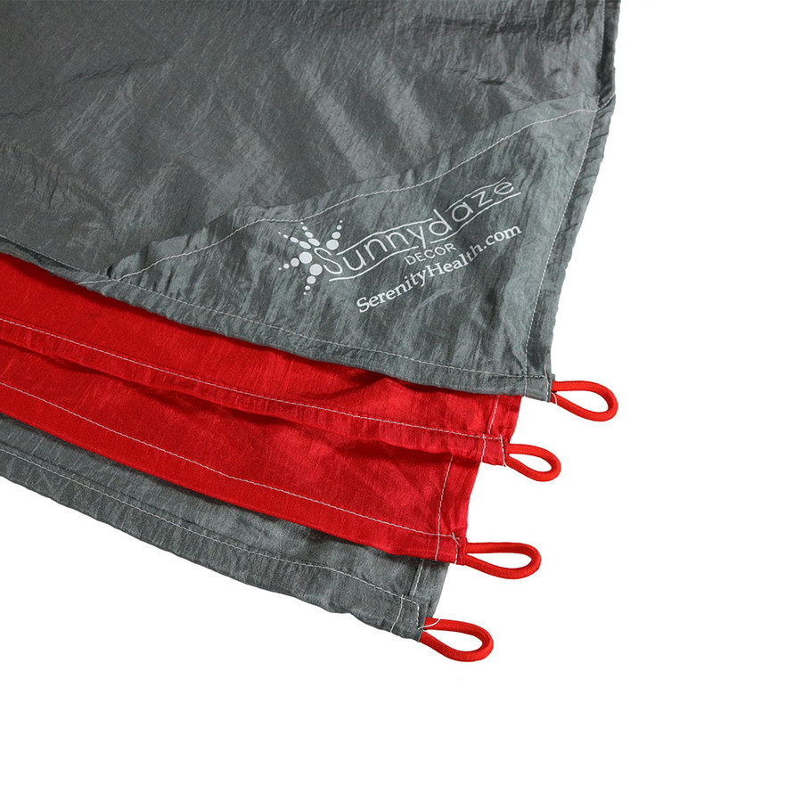 Red/Grey Stake Loops
