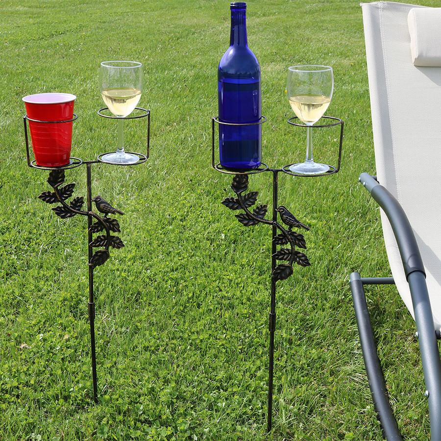 Dual Drink Holder Set of 2