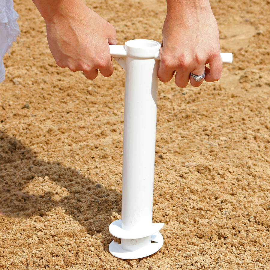 Drilling into Sand