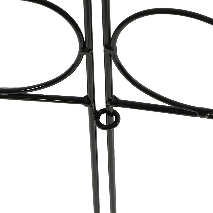 Black Closeup of Fence