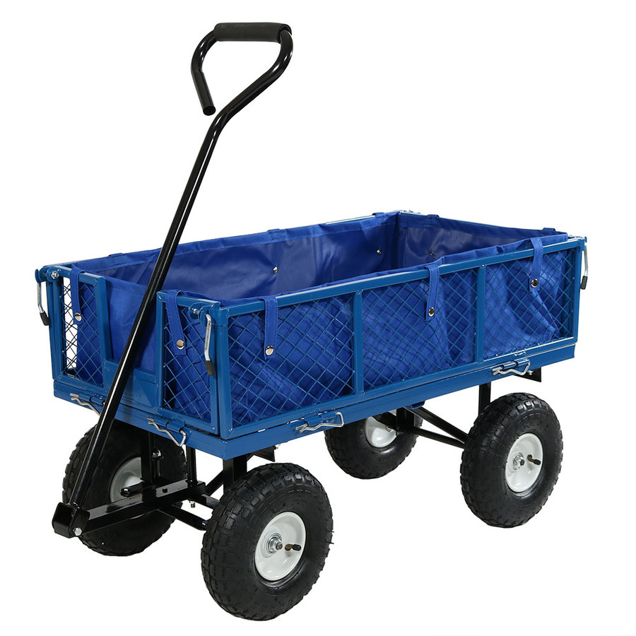 Blue Cart with Liner