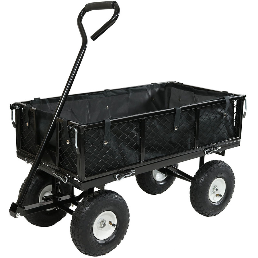 Black Cart with Liner