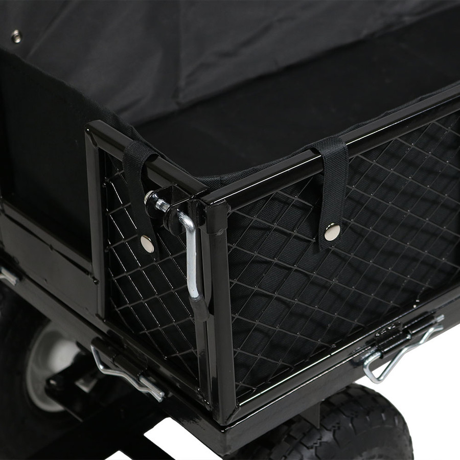 Black Cart and Liner Closeup